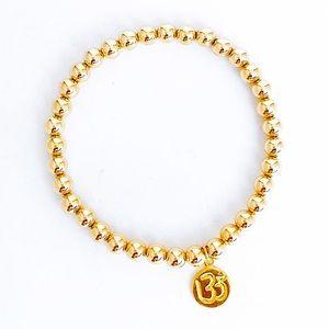 KiKi Stackable Bracelet + Om Charm